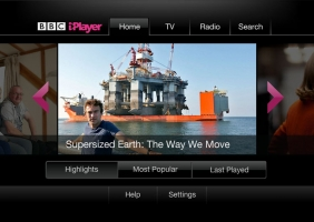 BBC iPlayer for Virgin TiVo 1