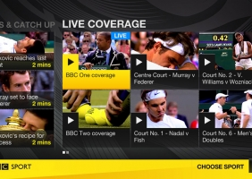 BBC Sports for Virgin TiVo 2