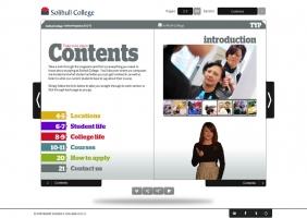 Solihull College interactive prospectus 1