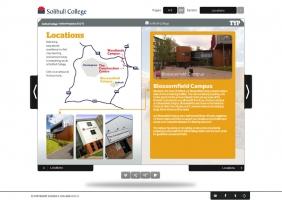 Solihull College interactive prospectus 2