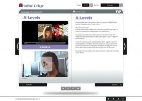 Solihull College interactive prospectus 3