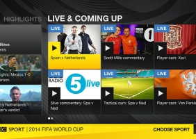 BBC Sports for Virgin TiVo 1