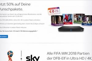EPG for Sky Deutshland 2